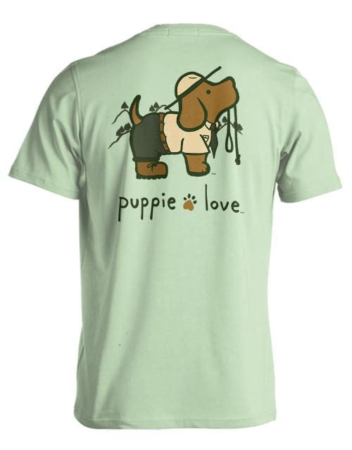 Small Mint Green Park Ranger Short Sleeve Tee by Puppie Love