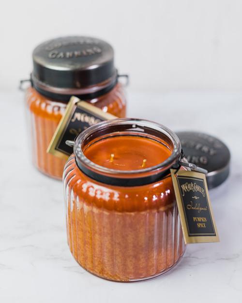 Pumpkin Spice 18 oz. McCalls Indulgence Candle 2-Pack