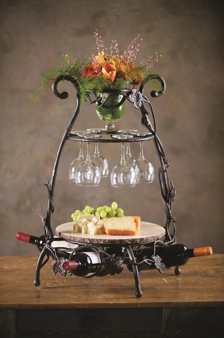 Vineyard Wine & Cheese Party Server by Bella Toscana