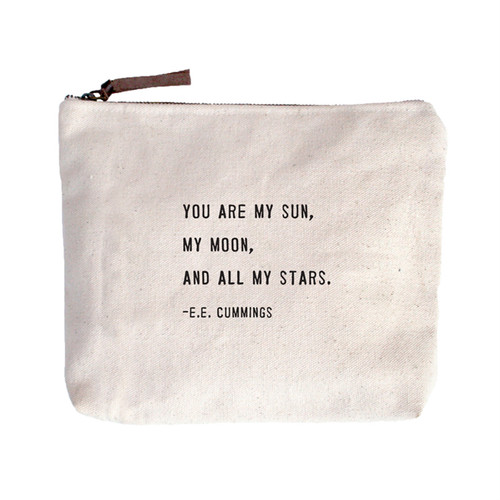 You Are My Sun Canvas Bag by Sugarboo Designs