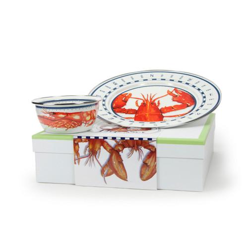 Lobster Dip Set by Golden Rabbit - Special Order