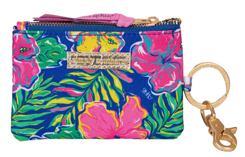 Tropic ID Coin Holder By Simply Southern