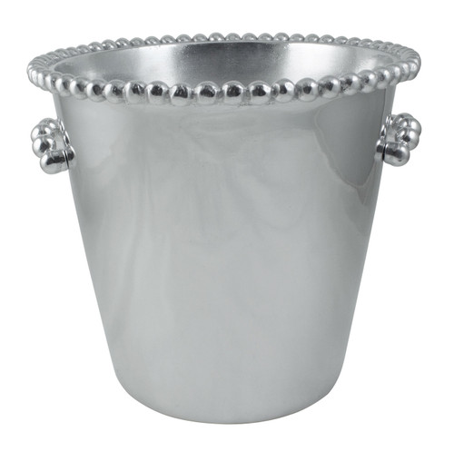 Pearled Ice Bucket by Mariposa - Special Order