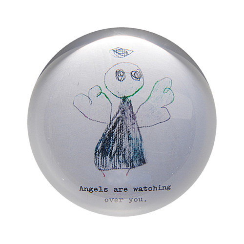 Angels Are Watching Paper Weight (Set of 2) by Sugarboo Designs - Special Order