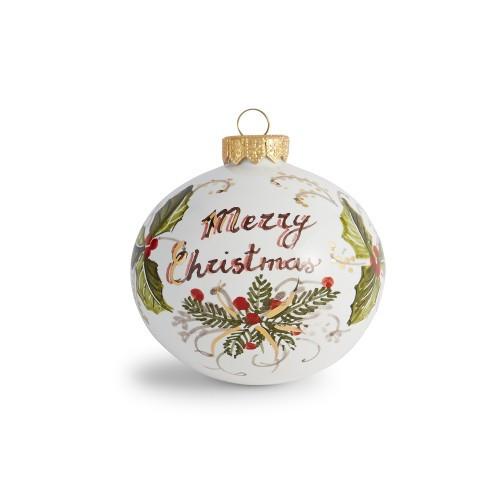Natale Merry Christmas Ornament - Arte Italica