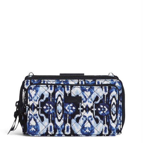 RFID Deluxe All Together Crossbody Ikat Island by Vera Bradley