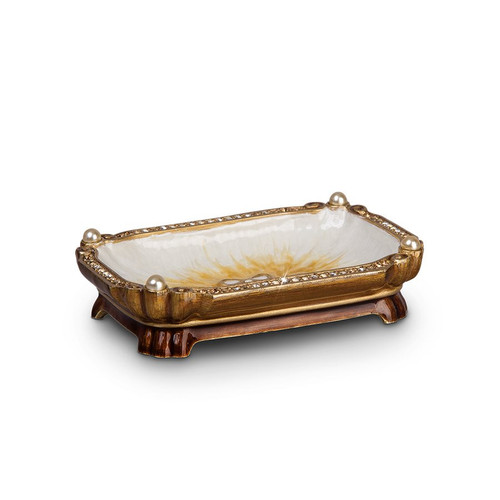 Jay Strongwater Ling Mystic Knot Trinket Tray - Special Order