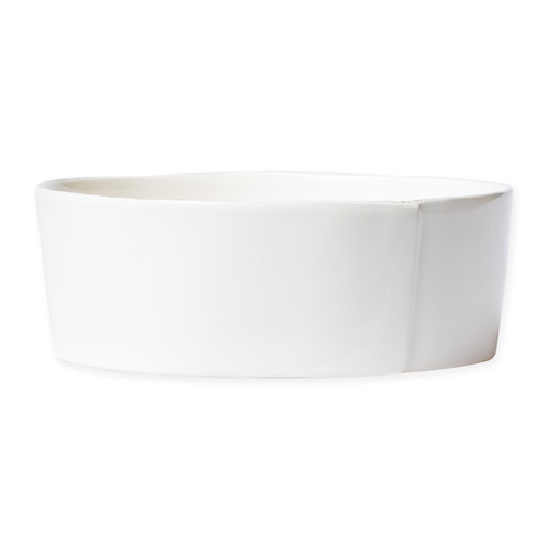Vietri Lastra Linen Large Serving Bowl - Special Order