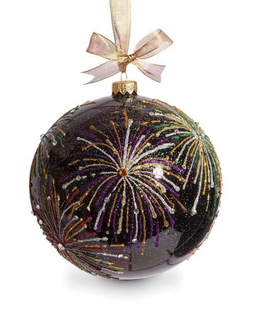 "Jay Strongwater Fireworks Artisan 6"" Ornament"