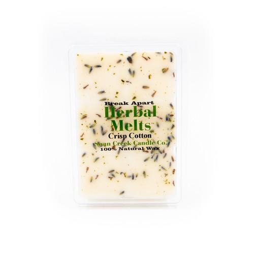 Crisp Cotton 5.25 oz Swan Creek Candle Drizzle Melts