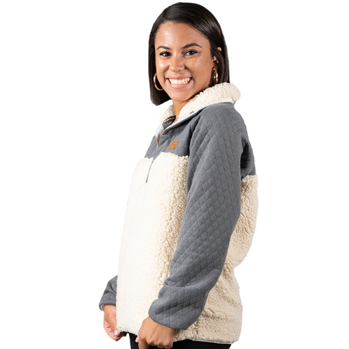 XXLarge Cream Fleece Pullover by Simply Southern
