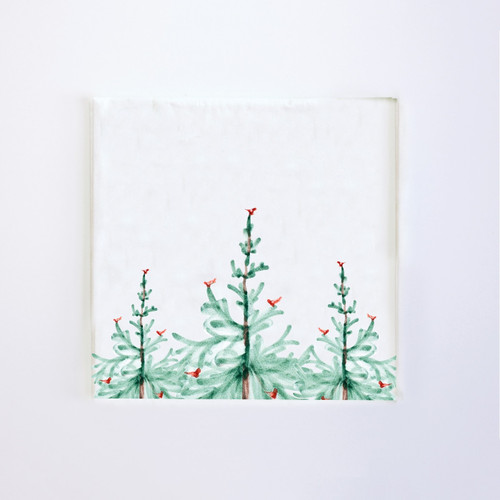 Vietri Lastra Holiday Paper Cocktail Napkins (Pack of 20) - Special Order