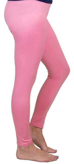XL-XXL Pink Leggings By Simply Southern