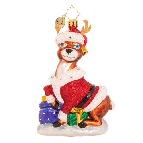Going Stag This Christmas Ornament by Christopher Radko