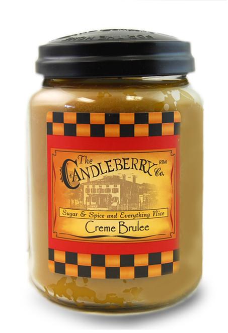 Creme Brulee 26 oz. Large Jar Candleberry Candle