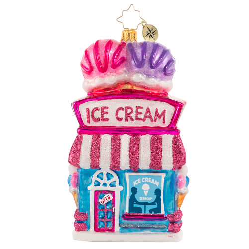 Every Day Is Sundae! Ornament by Christopher Radko