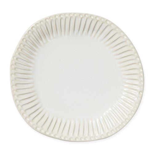 Vietri Incanto Stone Linen Stripe Dinner Plate