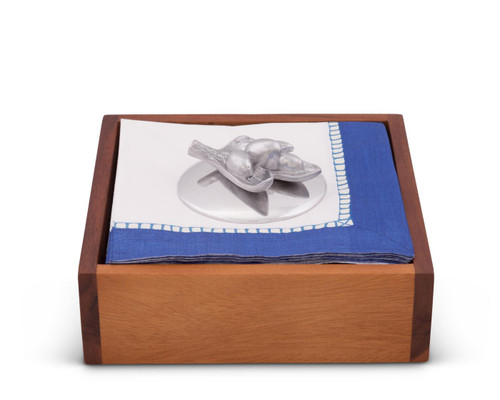 Olive Napkin Weight by Arthur Court