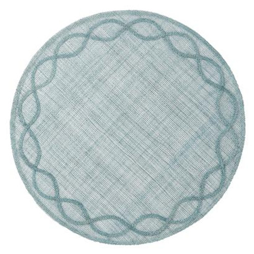 Tuileries Garden Ice Blue Placemat by Juliska - Special Order