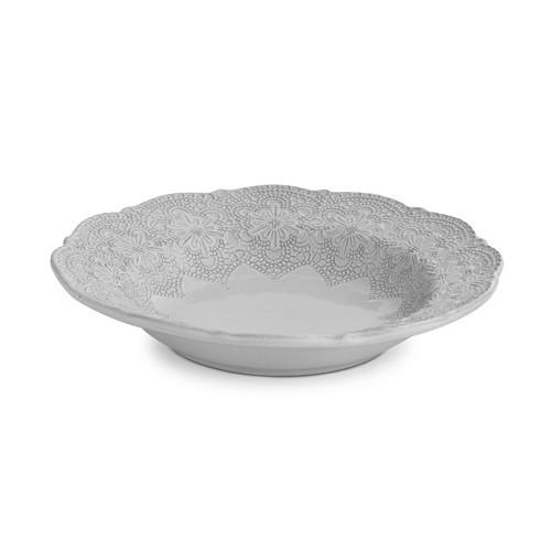 Merletto White Pasta/Soup Bowl - Arte Italica