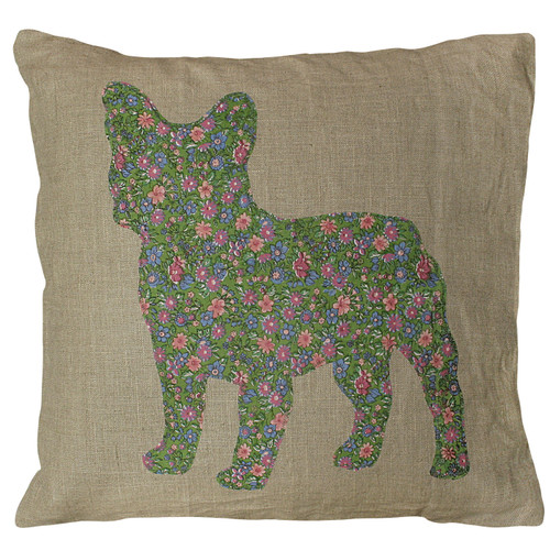"""24"""" X 24"""" Frenchie Pillow by Sugarboo Designs - Special Order"""