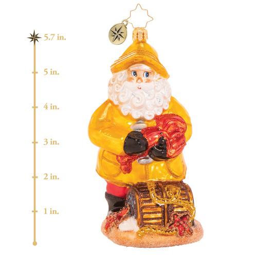 Santa's Claws Ornament by Christopher Radko
