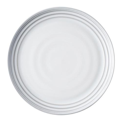 Bilbao White Truffle Dinner Plate by Juliska - Special Order