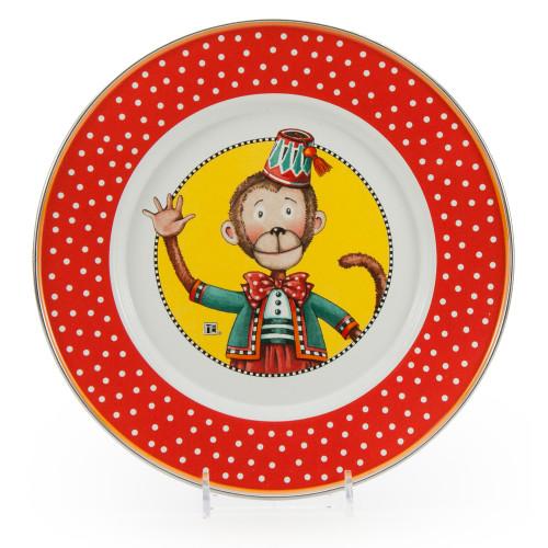 Monkey Child Plate by Golden Rabbit