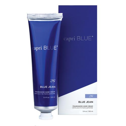 No. 26 Blue Jean 3.4 oz. Signature Collection Hand Cream by Capri Blue