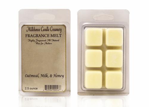 Oatmeal, Milk, & Honey Fragrance Melt by Milkhouse Candle Creamery
