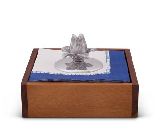 Magnolia Napkin Weight by Arthur Court