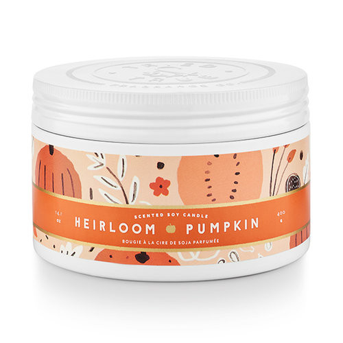 Heirloom Pumpkin 14.1 oz. Large Tin Candle by Tried & True