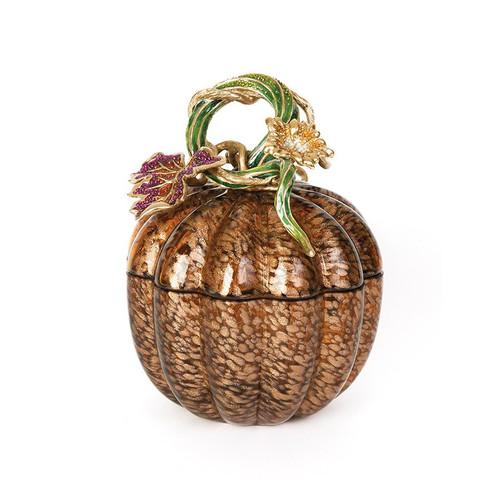 Jay Strongwater Joel Leaf & Vine Jeweled Glass Jar - Bouquet - Special Order