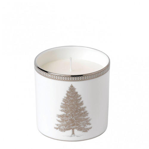 Winter White Candle Earl Grey/Chocolate by Wedgwood