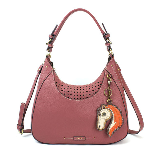 Rose Horse Sweet Hobo Tote by Chala