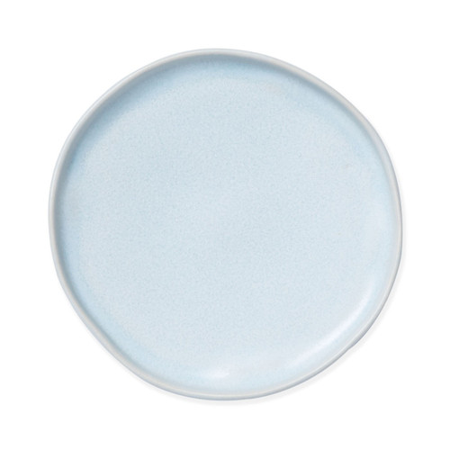 Vietri Bath Essentials Blue Matte Round Tray - Special Order