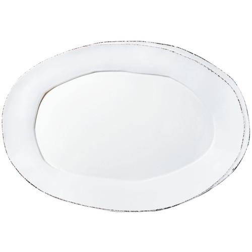 Vietri Lastra White Oval Platter - Special Order