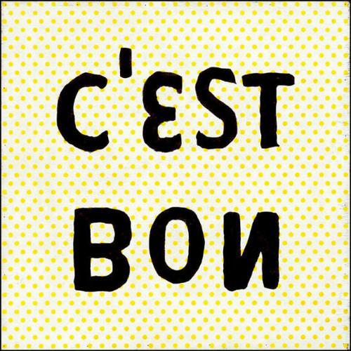 "36"" x 36"" C'est Bon Art Print by Sugarboo Designs - Special Order"