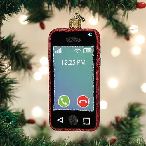 Old World Christmas Smartphone