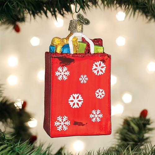 Old World Christmas Holiday Shopping Bag