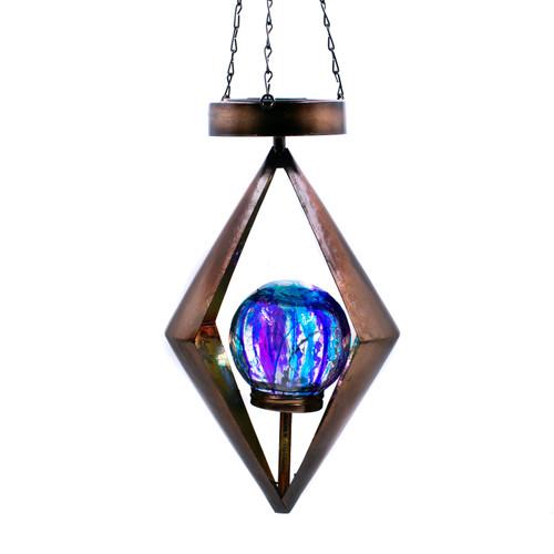 Solar Diamond Lantern - Bronze by Regal Art & Gift