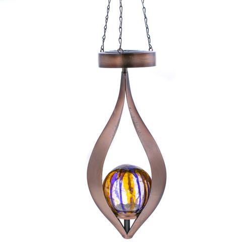 Solar Teardrop Lantern by Regal Art & Gift