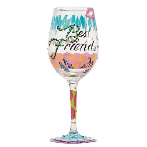 Lolita Wine Glass Best Friends Always by ENESCO