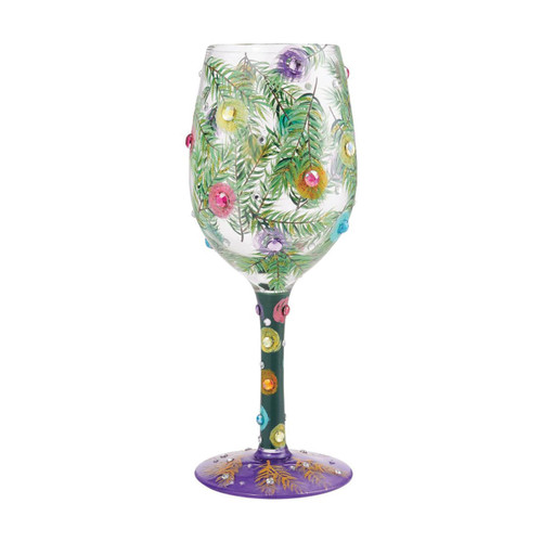 Lolita Wine Glass Season of Light by ENESCO