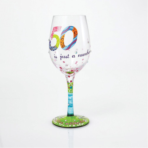 Lolita Wine Glass 50 Is Just a Number by ENESCO