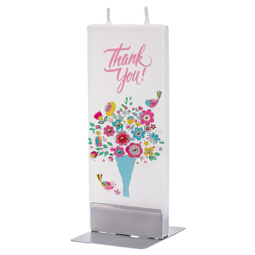 Thank You Decorative Flat Candle by Flatyz Candles