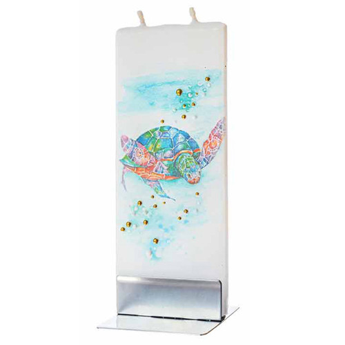 Sea Turtle Decorative Flat Candle by Flatyz Candles