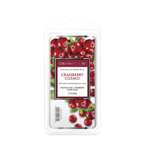 Cranberry Cosmo 2.75 oz. Classic  Wax Melts Colonial Candle