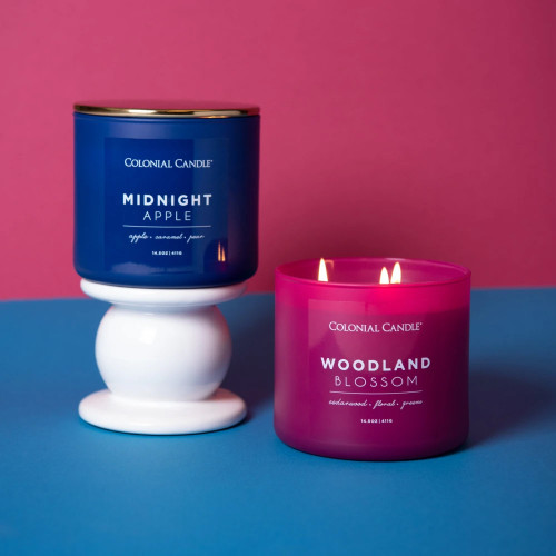 Midnight Apple 14.5 oz. Pop of Color Trend Collection Colonial Candle