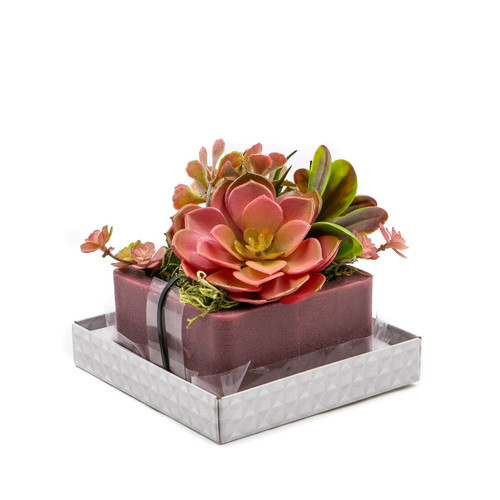 Desert Rose Geo Wax Pottery by Habersham Candle Co.
